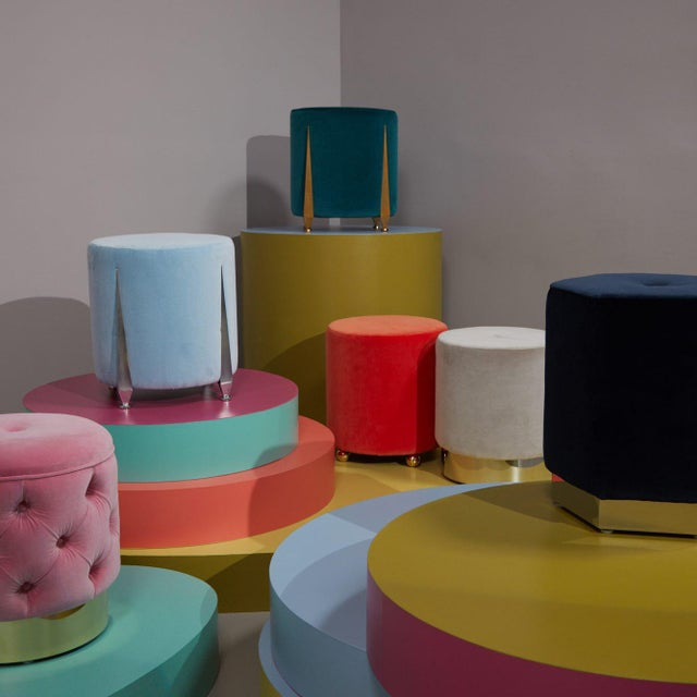 The Iris Stool by Talisman Bespoke For Sale - Image 10 of 10