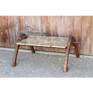 Silk Top Oxcart Coffee Table Preview