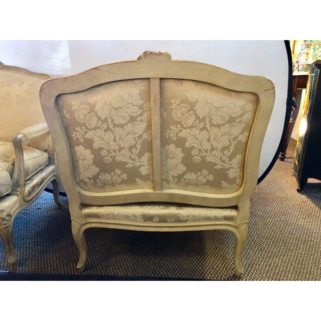 Louis XV Style Lounge Chairs by Maison Jansen - a Pair For Sale In New York - Image 6 of 11