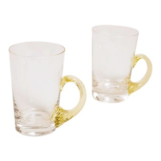 1930s Italian Art Deco Glasses - a Pair For Sale