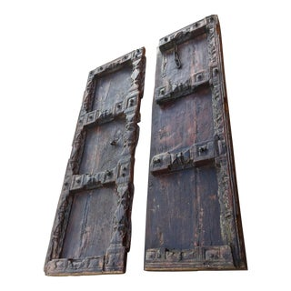 Antique French Doors - a Pair For Sale