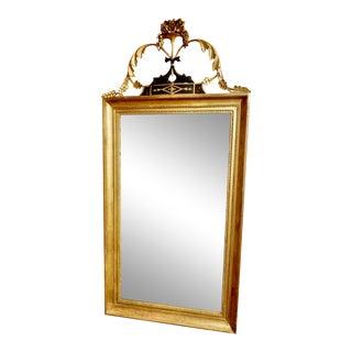 Elegant Neo-Classical Gilt Mirror For Sale