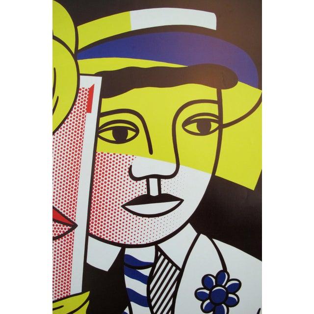 Modern 1986 Original Roy Lichtenstein Poster, Department of 21st Century Art, Metropolitan Museum For Sale - Image 3 of 5