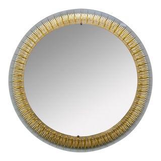 Midcentury Modern Mirror Italy 1960
