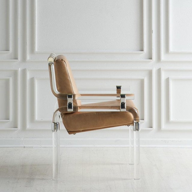 Jeff Messerschmidt Pipeline Series II Chair in Leather For Sale - Image 9 of 12