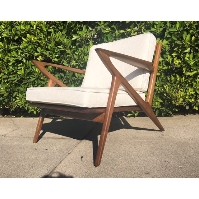 """Mid-Century Modern Style """"Z"""" Chair - Image 2 of 5"""
