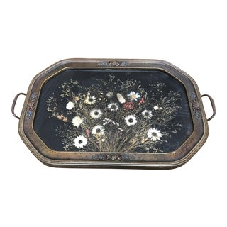 Dried Flower Serving Tray For Sale
