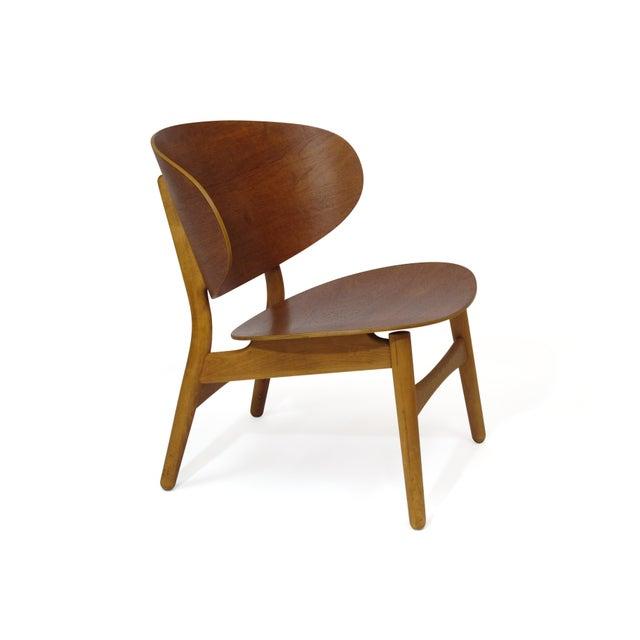 Hans Wegner Teak Shell Chair Fh-1936 For Sale - Image 12 of 12