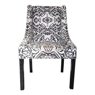 Black Marble Desk Chair
