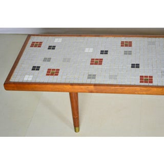 Long Mosaic Tile Coffee Table by Martz Studio Preview
