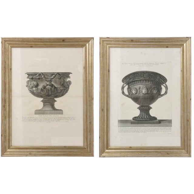 This handsome set of Piranesi copper-plate engravings date from the 18th century and are in excellent condition. The...