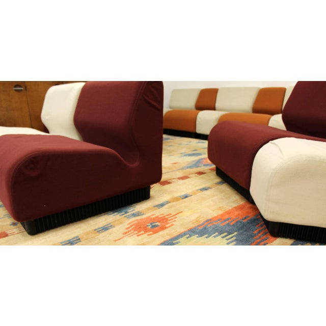 Red Mid-Century Modern Never Ending Sectional Sofa by Don Chadwick for Herman Miller For Sale - Image 8 of 11