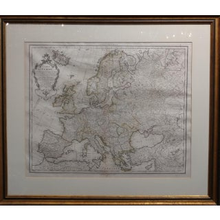 Guillaume Delisle 17th/18th Century Map of Europe Preview