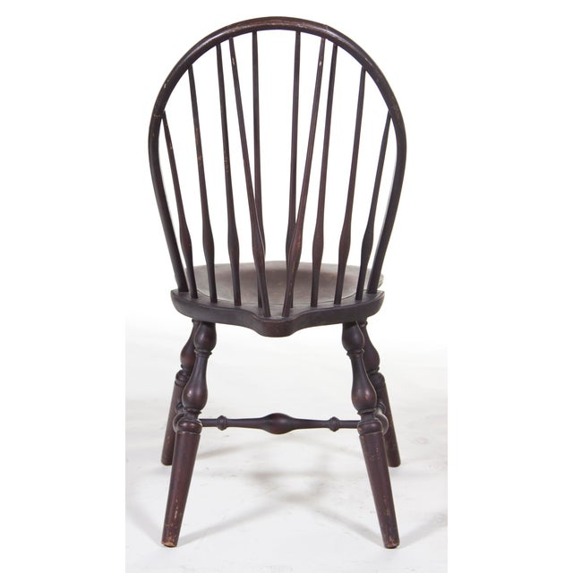 English Traditional Mid 19th Century Small Old Windsor Chair For Sale - Image 3 of 3