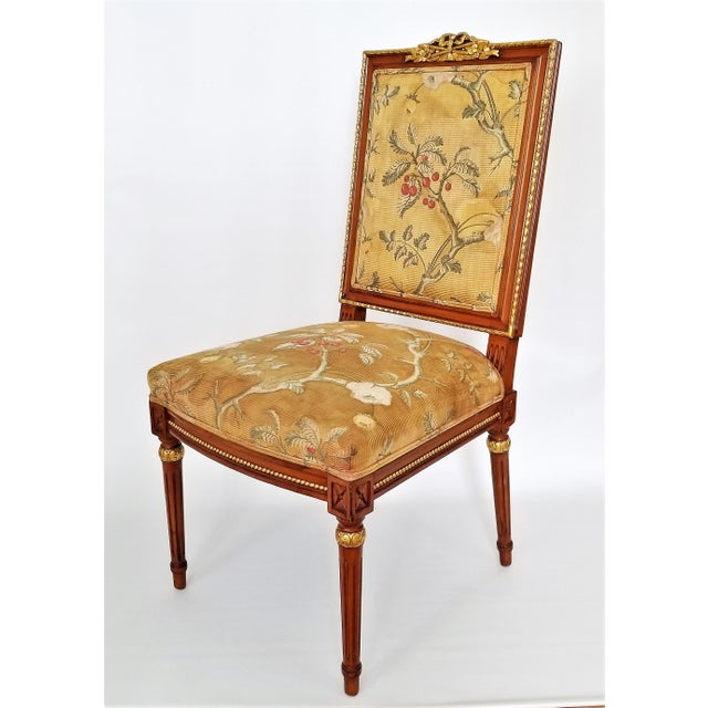 1960s Vintage Louis XVI French Directoire Style Chair For Sale - Image 13 of 13