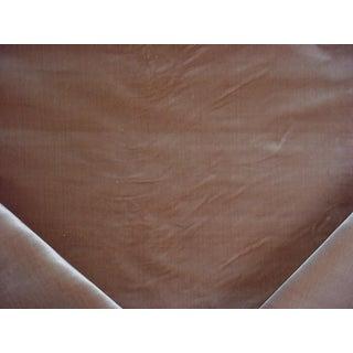 Louis XVI Jason d'Souza Emperor Plush Silk Velvet Sandstone Upholstery Fabric - 3y For Sale