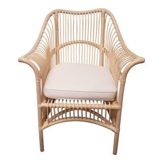 Montserrat Rattan Lounge Chair by Palu For Sale
