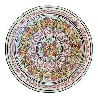 Vintage Dutch Decorative Platter For Sale