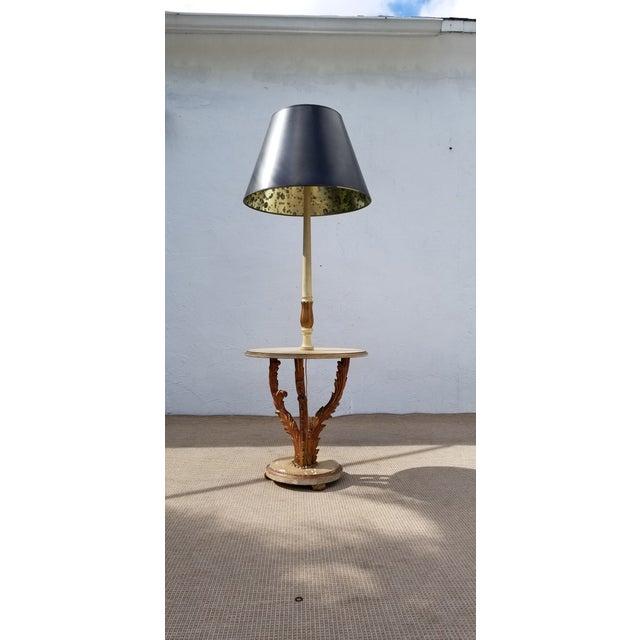 1950s Italian Neoclassical Venetian Style Table Floor Lamp For Sale - Image 12 of 12