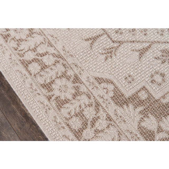 "Traditional Erin Gates Downeast Brunswick Beige Machine Made Polypropylene Area Rug 6'7"" X 9'6"" For Sale - Image 3 of 10"