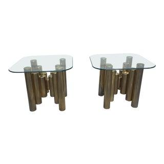 Art Deco Modern End Tables - A Pair