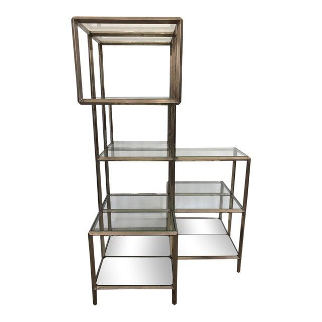 1960s Modern Chrome Etagere For Sale - Image 11 of 11