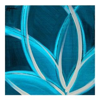 """""""Deep Sea II"""" Painting by Julie Hansen"""