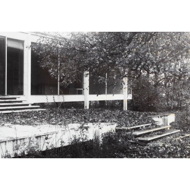 "Modern ""Farnsworth House Early Decline #1"" Photograph by Jim Zanzi For Sale - Image 3 of 6"