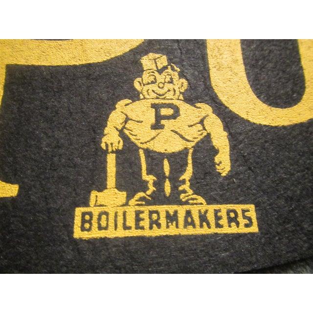 Vintage Purdue University Pennant - Image 4 of 9