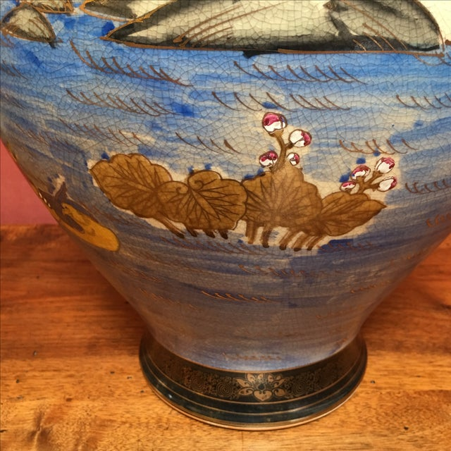 Hand Painted Japanese Imari Vase - Image 11 of 11