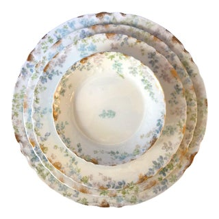 Late 19th Century Antique Charles Field Haviland Limoges - Set of 4 For Sale
