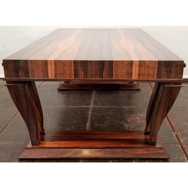 1980s Traditional Style Bolivian Rosewood Coffee Table For Sale - Image 5 of 10