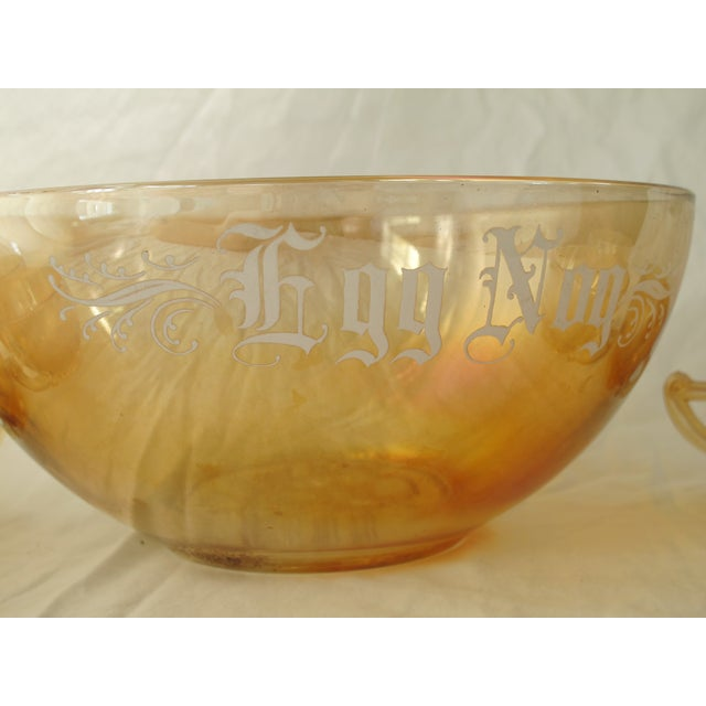 Holiday Punch Bowl - Image 4 of 5