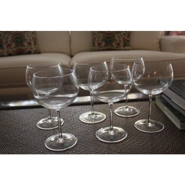 e9f90a74c062 Transparent Tiffany   Co. Montrachet Burgundy Wine Glasses - Set of 6 For  Sale