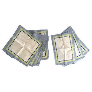 16-Piece Vintage Napkin & Placemat Set