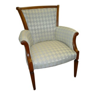 Traditional Diamond Armchair