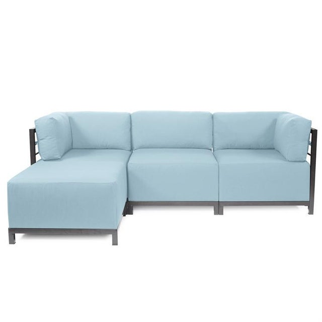 Not Yet Made - Made To Order Urban Patio 4 Pc Sectional Sofa from Kenneth Ludwig Chicago For Sale - Image 5 of 5