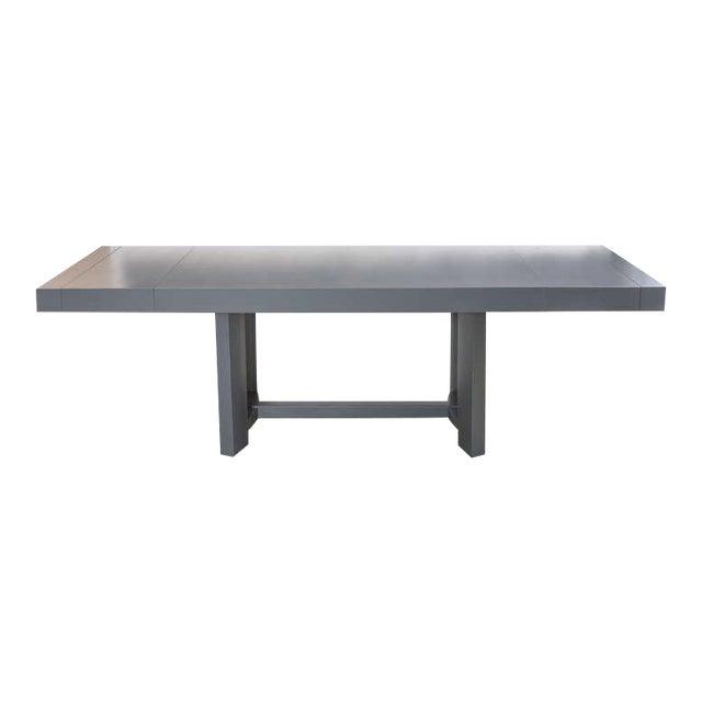 Silver T.H. Robsjohn-Gibbings Dining Table For Sale - Image 8 of 8