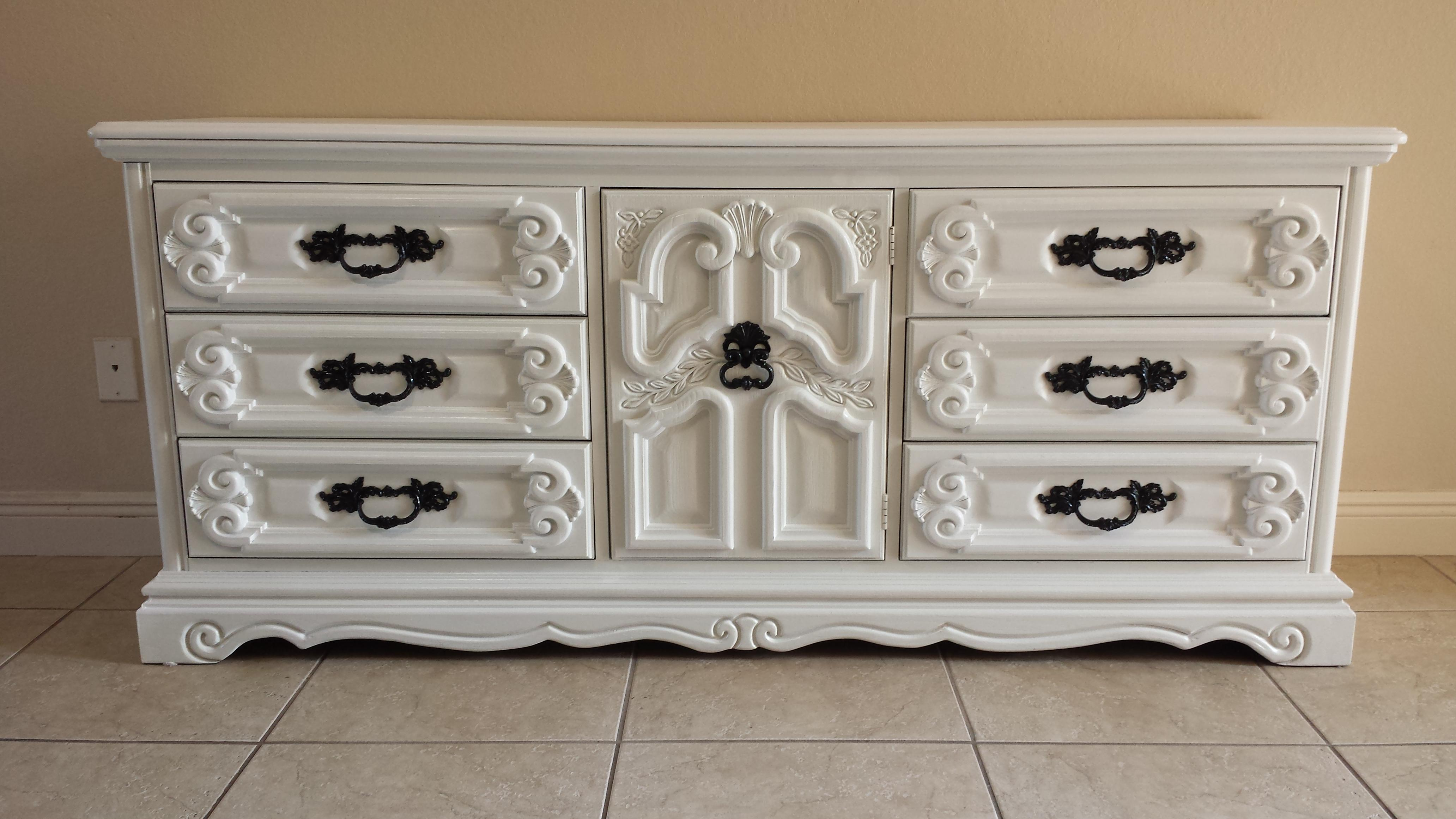 Beau This Listing Is For An Amazing Dresser Buffet. The Gorgeous Ornate Look Was  Accomplished With. Islamic Burlington House Furniture ...