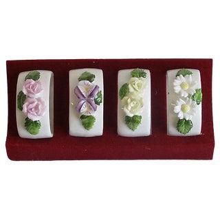 Capo DI Monte Style Napkin Rings, Set of 4 For Sale