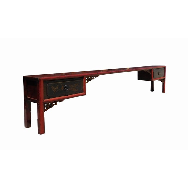 Chinese Vintage Altar Display Table Stands - Image 5 of 8
