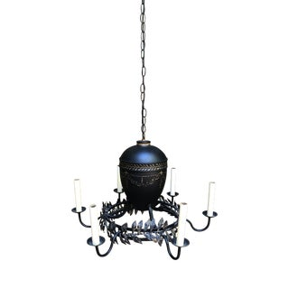 Niermann Weeks Laurel Tole Chandelier For Sale