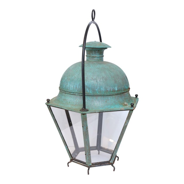 Large Early 20th Century Avignon Lantern For Sale - Image 4 of 7