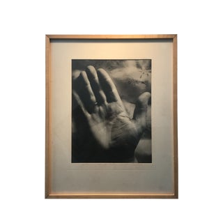 1940s Surreal Black & White Hand Photograph For Sale