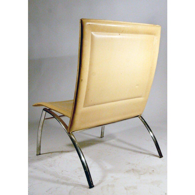 Modern Italian Occasional Chairs For Sale - Image 4 of 4