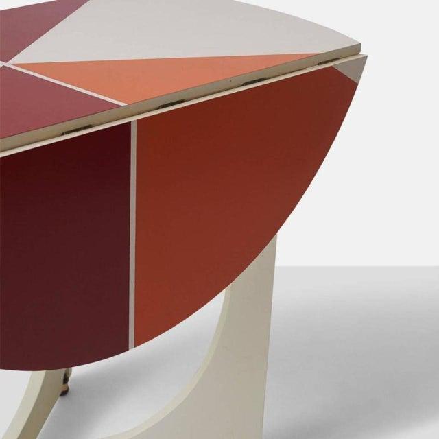 Gio Ponti Drop Leaf Apta Table For Sale In San Francisco - Image 6 of 9