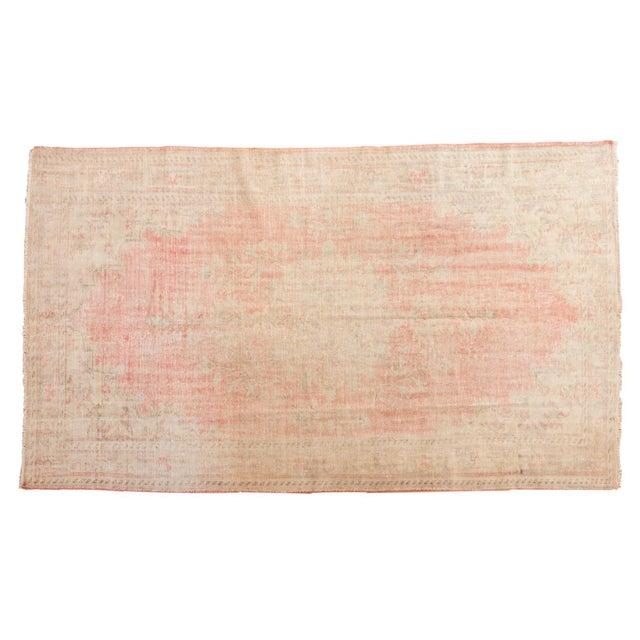 "Vintage Distressed Oushak Carpet - 6'2"" X 10'8"" For Sale - Image 13 of 13"