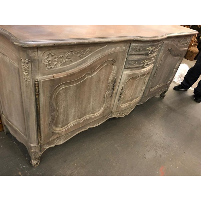 Late 19th Century 19th Century French Louis XV Graphite Washed Enfilade For Sale - Image 5 of 8