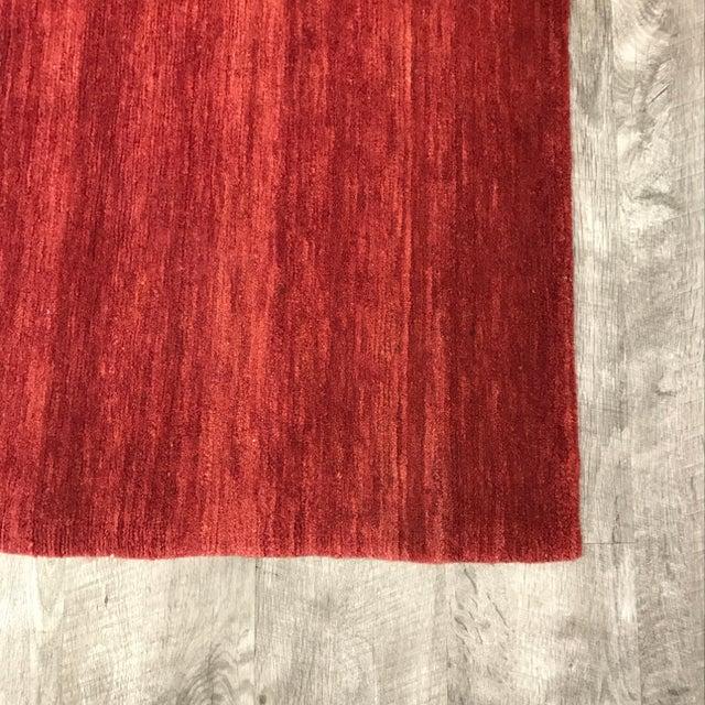 Odegard Hand-Loomed Wool Runner - 2′ × 12′8″ For Sale - Image 5 of 8