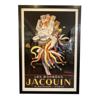 Les Bonbon Jacquin Large Custom Framed Poster For Sale